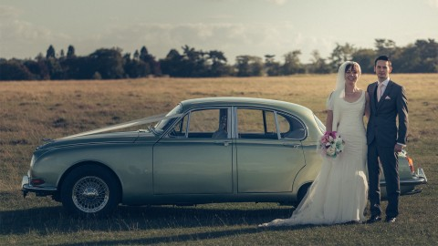 Charlotte and Michael (The Old Lodge) James Fear Wedding Photography